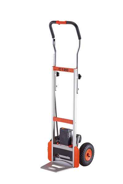 CargoMaster C120 electric stair climbing lift truck / stair climbing hand truck