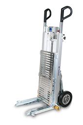CargoMaster C400 electric stair climbing lift truck / stair climbing hand truck